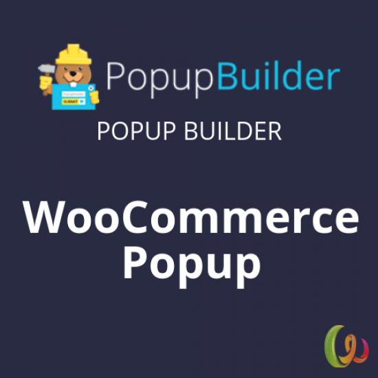 Popup Builder WooCommerce