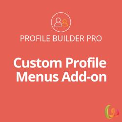 Profile Builder Custom Profile Menus Add-on 1.0.9