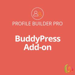 Profile Builder BuddyPress Add-on 1.0.6