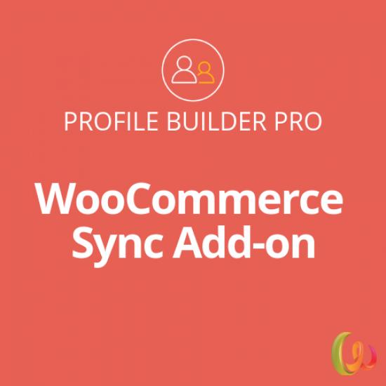 Profile Builder WooCommerce Sync Add-on