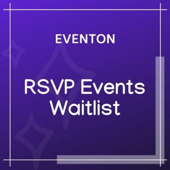 EventOn RSVP Events Waitlist Add-on 0.3