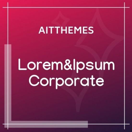 Lorem&Ipsum Corporate 1.27 WordPress Theme