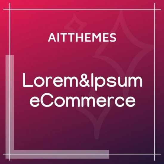 Lorem&Ipsum eCommerce 2.35 WordPress Theme