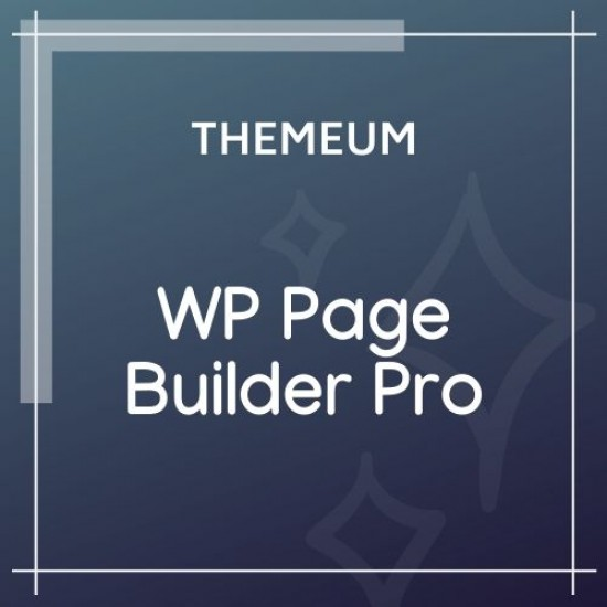 WP Page Builder Pro 1.0.9