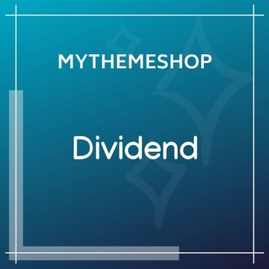 MyThemeShop Dividend WordPress Theme 1.2.5