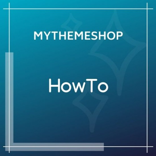 MyThemeShop How To WordPress Theme 1.3.5