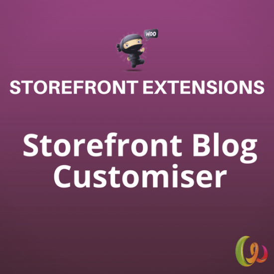 Storefront Blog Customiser 1.3.0
