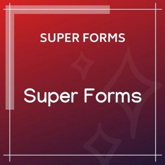 Super Forms Drag Drop Form Builder