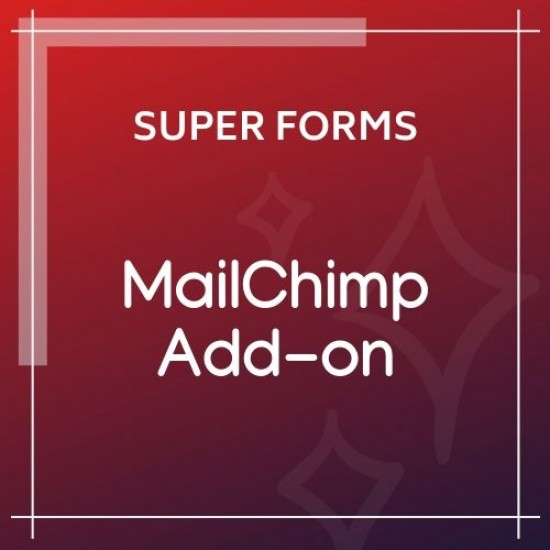 Super Forms MailChimp Add-on