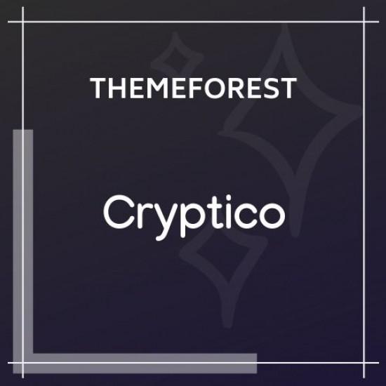 Cryptico ICO Crypto Landing Cryptocurrency Theme