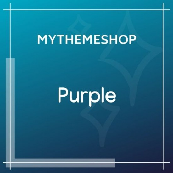 MyThemeShop Purple WordPress Theme