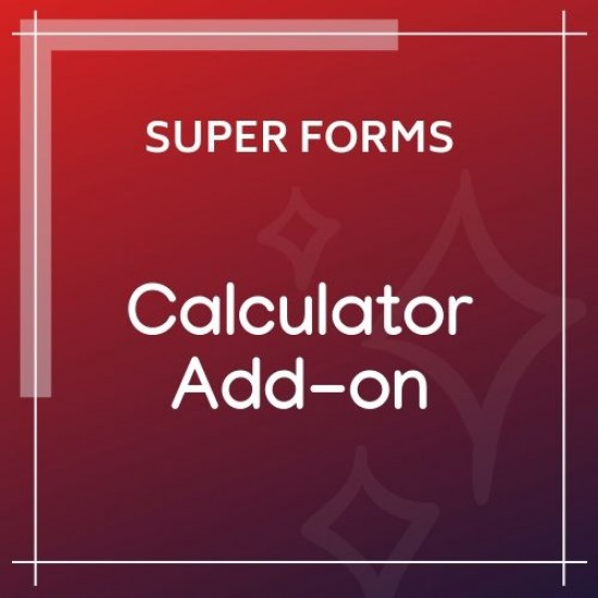 Super Forms Calculator Add-on