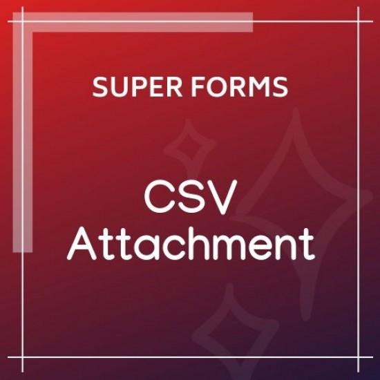 Super Forms CSV Attachment 1.3.0