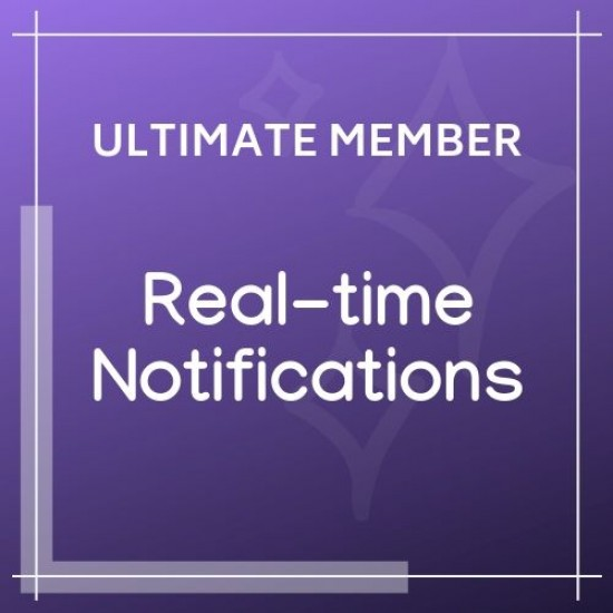 Ultimate Member Real time Notifications 2.1.4