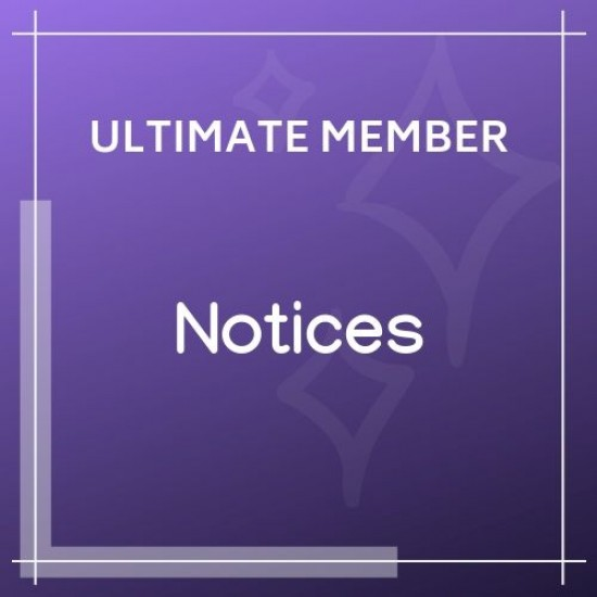 Ultimate Member Notices 2.0.5