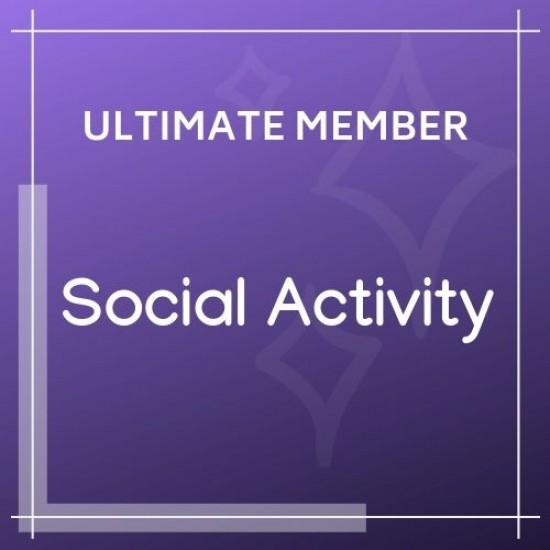 Ultimate Member Social Activity 2.2.0