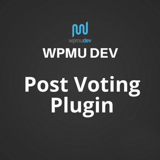 WPMU DEV Post Voting Plugin 2.2.5