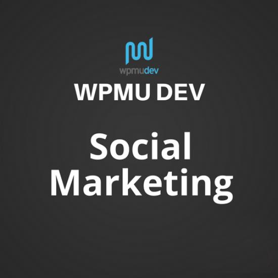 WPMU DEV Social Marketing 1.2.5