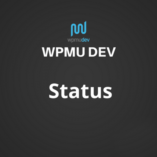 WPMU DEV Status 1.8.4