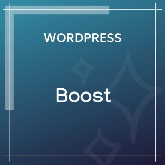 Boost WordPress Plugin