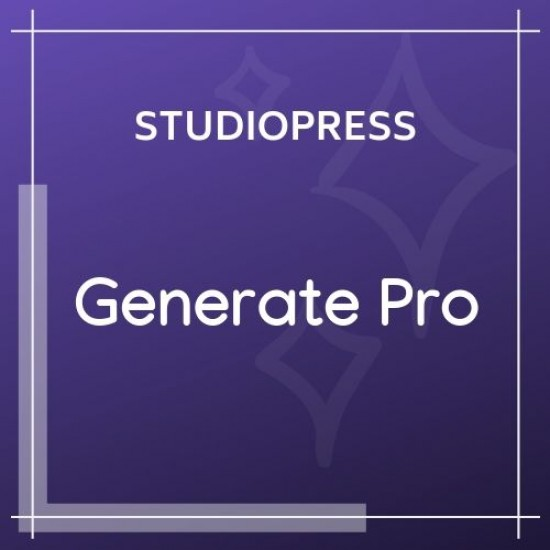 Generate Pro Theme 2.1.1