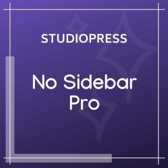 No Sidebar Pro Theme 1.0.4