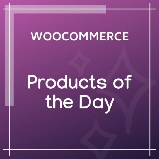 WooCommerce Products of the Day 1.2.0