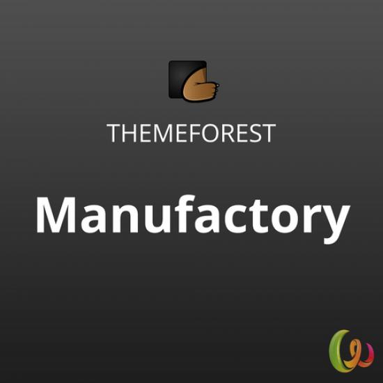 Manufactory Multi-Industrial WordPress Theme 1.0