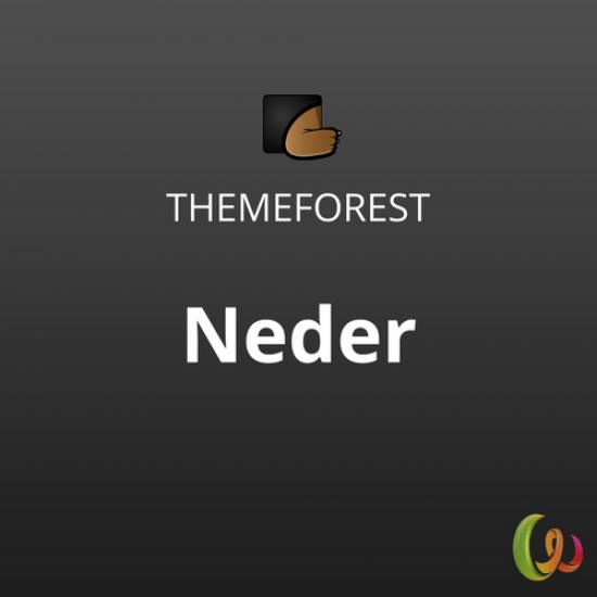 Neder WordPress News Magazine and Blog Theme 1.0