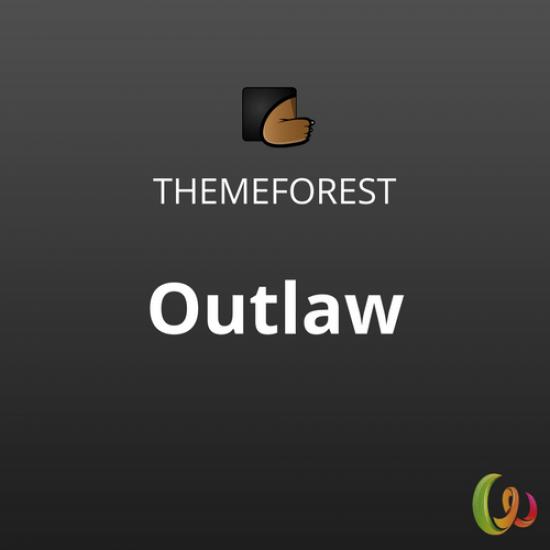 Outlaw Stylish WooCommerce WordPress Theme 1.0