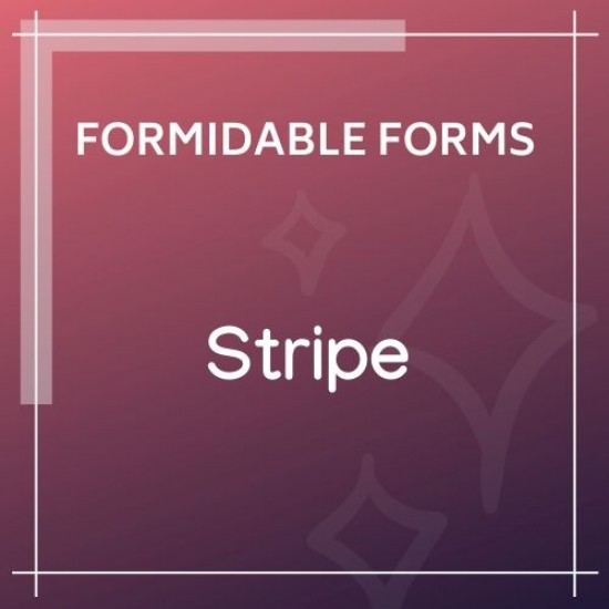 Formidable Forms Stripe Add-On