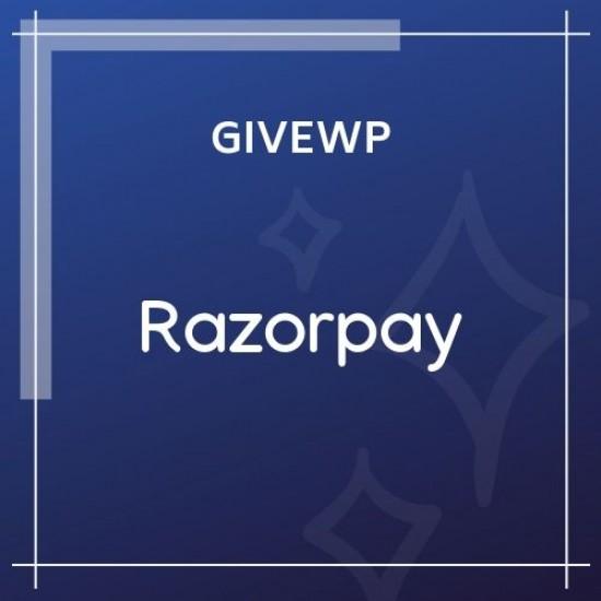 Give Razorpay Gateway