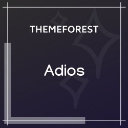 Adios | Portfolio WordPress Theme