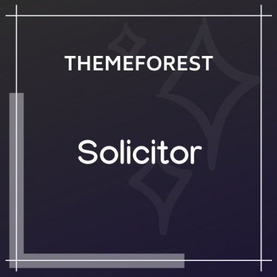Solicitor Law Business Responsive WordPress Theme 1.5