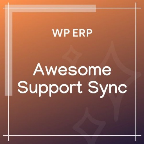 WP ERP Awesome Support Sync 1.0.0