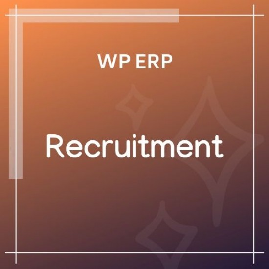 WP ERP Recruitment 1.2.2
