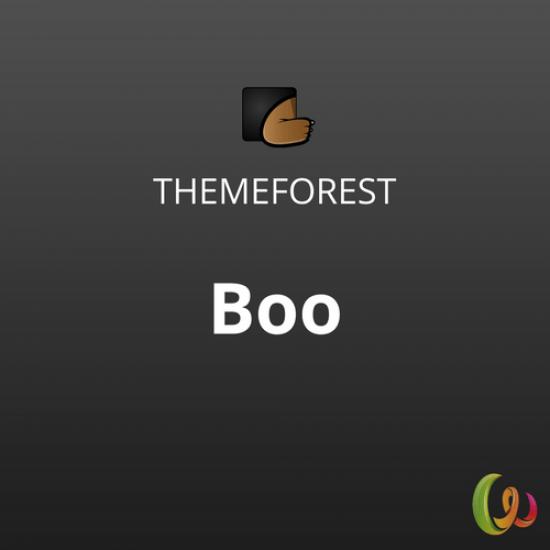 Boo   Responsive Multi-Purpose WordPress Theme