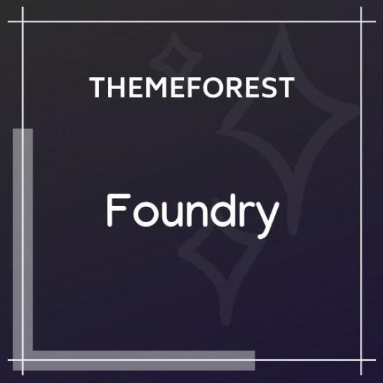 Foundry Multipurpose, Multi-Concept WP Theme