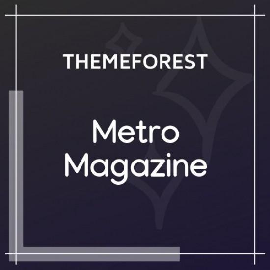 Metro Magazine Responsive WordPress Theme 3.1