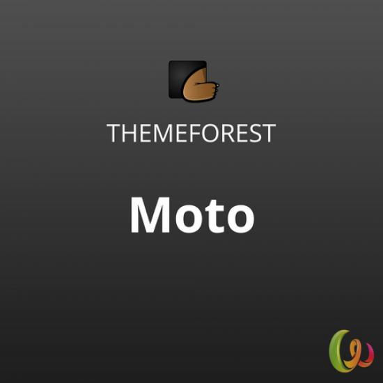 Moto WordPress Landing Page Theme 1.1.3