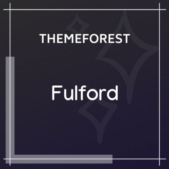 Fulford Responsive WordPress Blogging Theme 1.0.9
