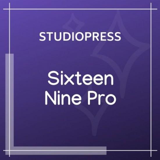 Sixteen Nine Pro Theme 1.1