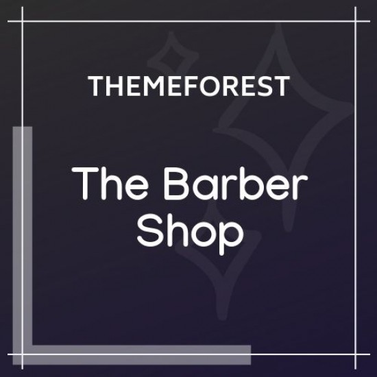 The Barber Shop One Page Theme For Hair Salon 1.8.2
