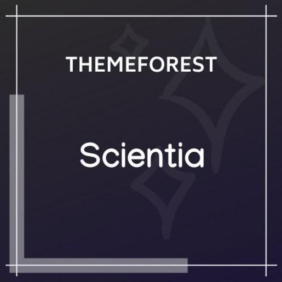 Scientia | Public Library Book Store Education Theme