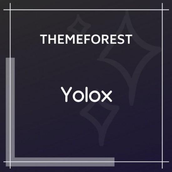 Yolox Modern Blog Theme for Business Startup