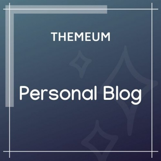 Personal Blog Theme