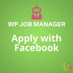 WP Job Manager Apply with Facebook 1.1.0