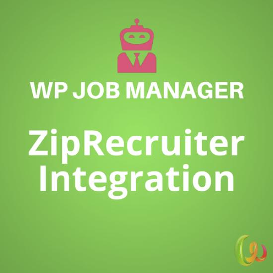 WP Job Manager ZipRecruiter Integration 1.1.0