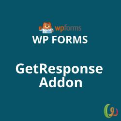 WPForms GetResponse Addon