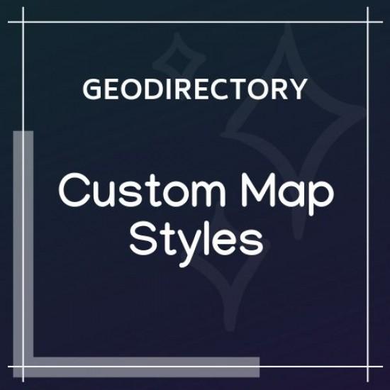 GeoDirectory Custom Map Styles